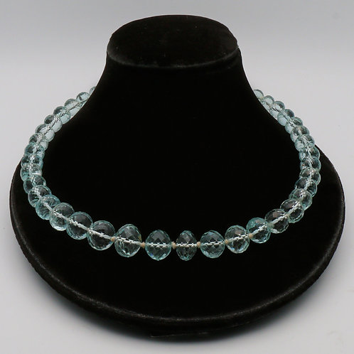 Early 20th Century aquamarine necklace