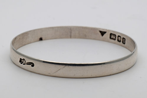 Brian Leslie Fuller Silver bangle