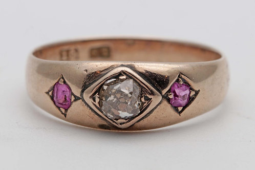 Victorian rose gold ring