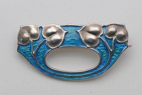 Rare Murrle Bennett Art Nouveau brooch c.1905