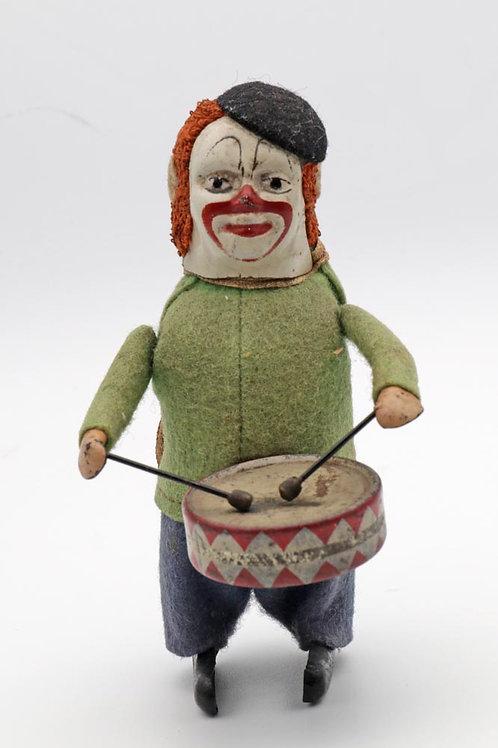 Schuco clockwork toy drummer