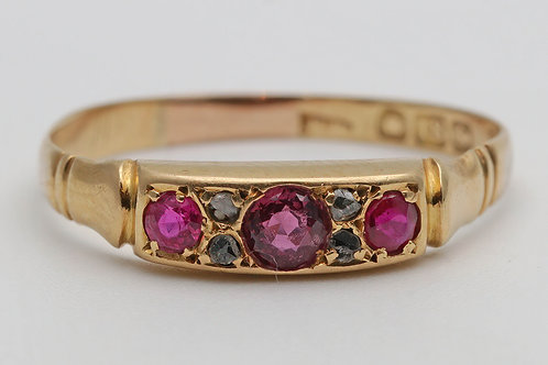 Victorian 18ct gold ring