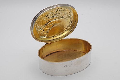 Art Nouveau Silver Box