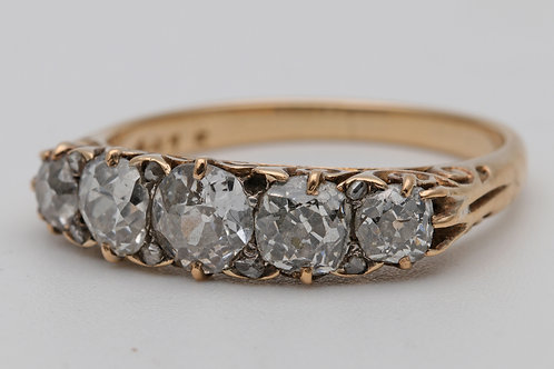 Antique Diamond Ring in 18ct Gold