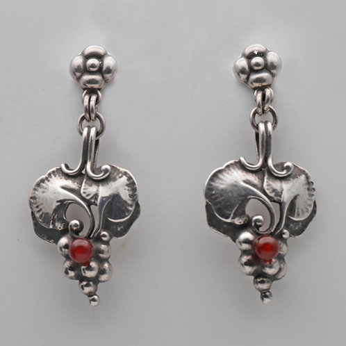 Georg Jensen silver earrings