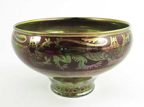 Royal Lancastrian Crane Mycock bowl