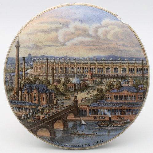 Pratt pot lid L'Exposition Universelle