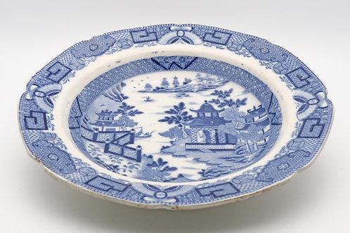 Caughley soup bowl c.1780