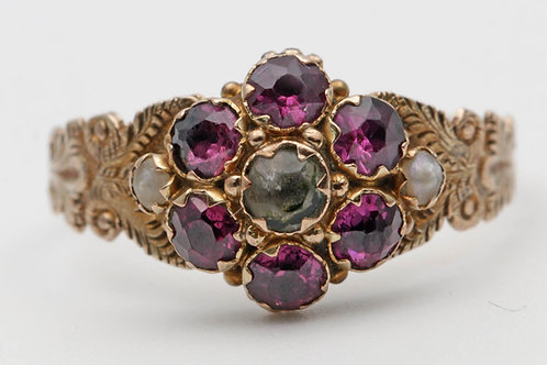 Early Victorian gold ring