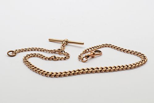 Albert Watch chain in 9ct gold