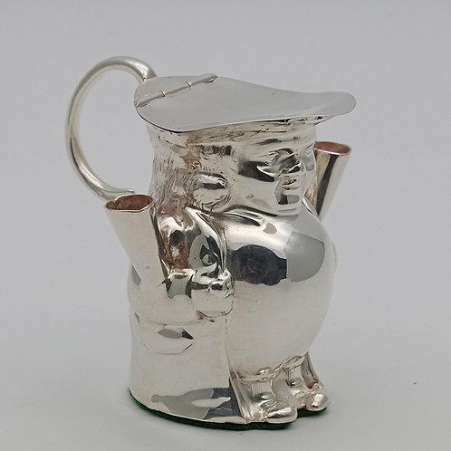 Novelty silver table cigar lighter 1911