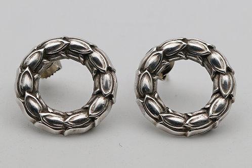 Rare Georg Jensen earrings by Prince Sigvard Bernadotte