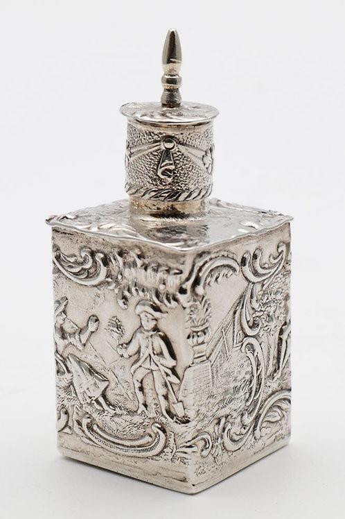 Miniature Silver Tea Caddy