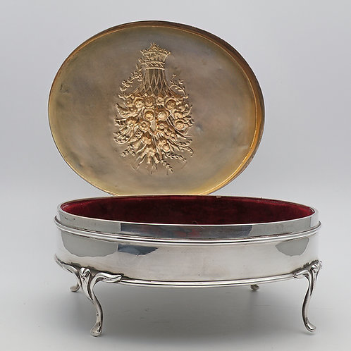 William Comyns silver box