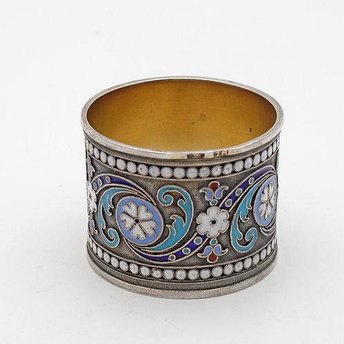 Antique Russian silver napkin ring