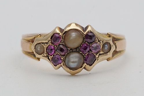 Rare Victorian 15ct gold ring