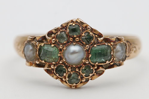 Mid Victorian 18ct gold ring