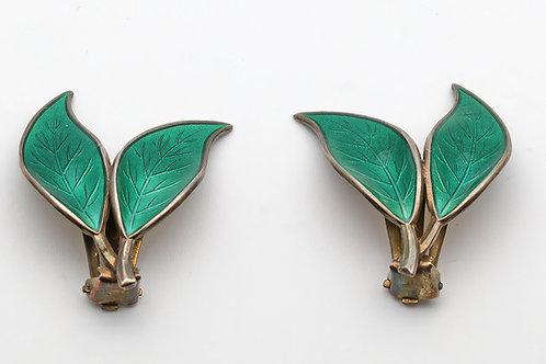 David Andersen vintage silver earrings