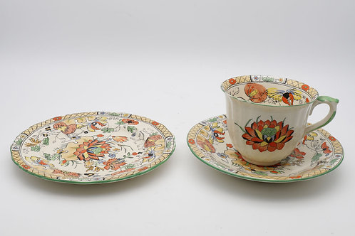 Masons Ironstone Cup, Saucer and Plate