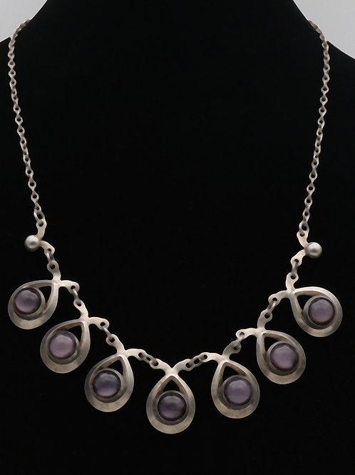 Herman Siersbol danish silver necklace