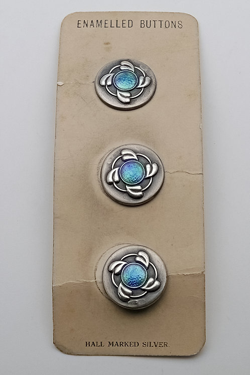 Rare set of Charles Horner buttons