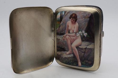 Secret erotic cigarette case