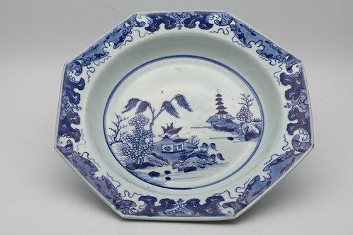 Chinese Qing Qianlong plate