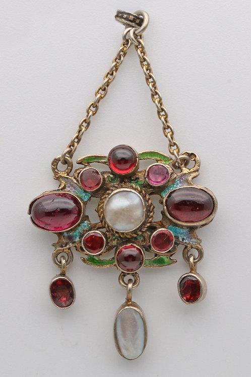 Austro-Hungarian pendant by Hermann Bohm