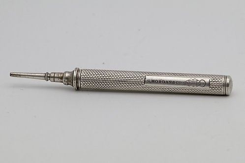 Sampson Mordan silver propelling pencil