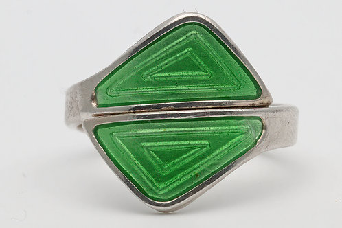 Aksel Holmsen Norwegian silver ring