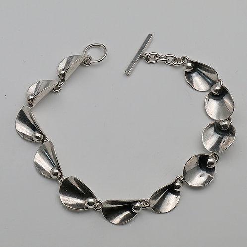 Danish silver bracelet by Niels Erik FROM