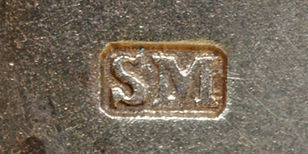 Sampson Mordan silver hallmark introduced 1823