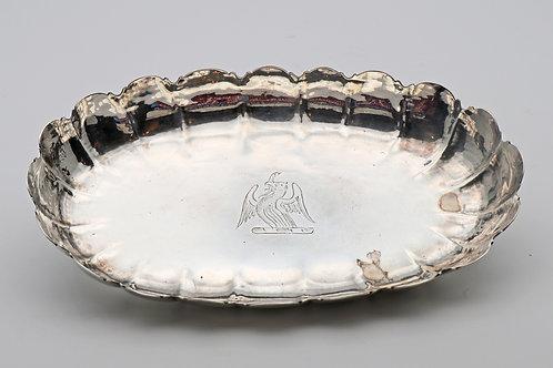 Queen Anne Britannia Silver Dish