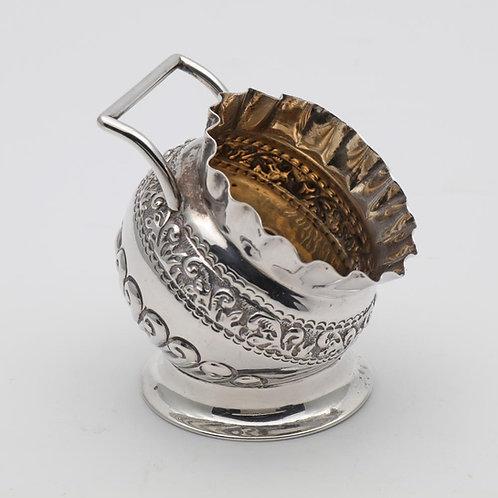 Victorian Silver Coal Scuttle