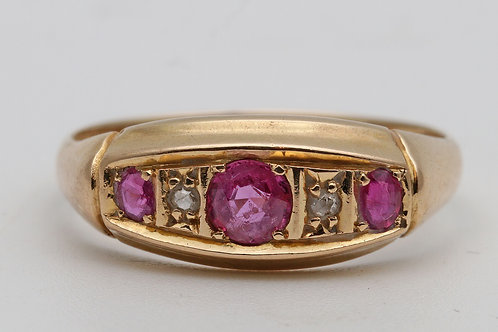 18ct gold ruby ring Chester