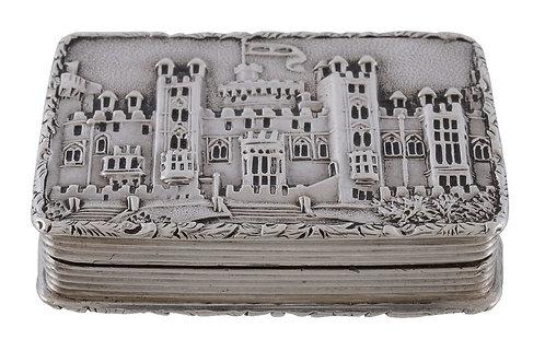 Castle-top vinaigrette by Nathaniel Mills - Windsor Castle