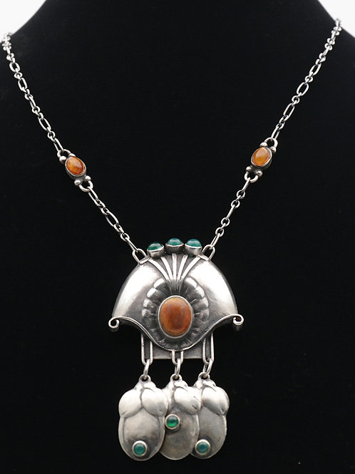 Georg Jensen rare early pendant