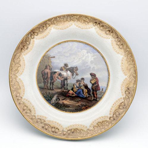 19th Century Pratt Plate