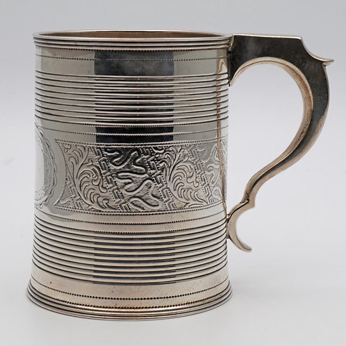 Georgian half pint tankard