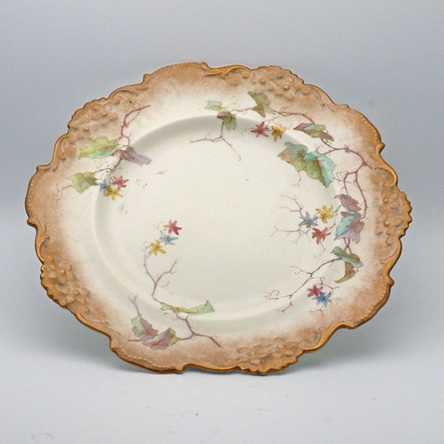 Antique Doulton Burslem cabinet plates