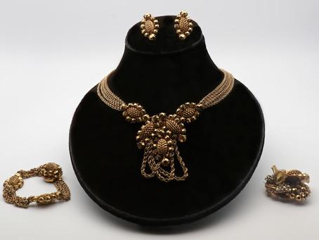 1940s and 1950 costume jewellery