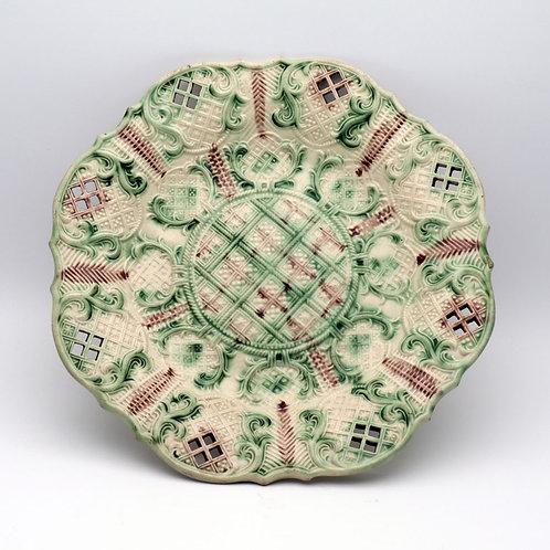 Whieldon Type Creamware Plate
