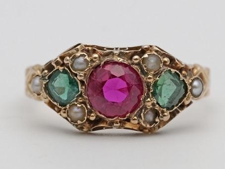 Synthetic gemstones.