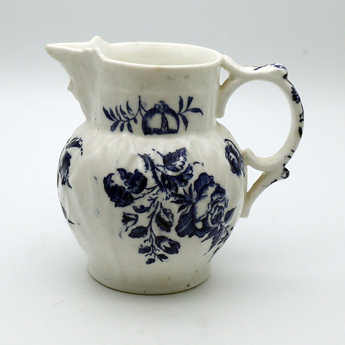 Worcester First period mask jug c.1770