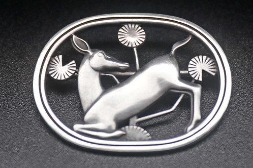 Iconic Georg Jensen Malinowski brooch