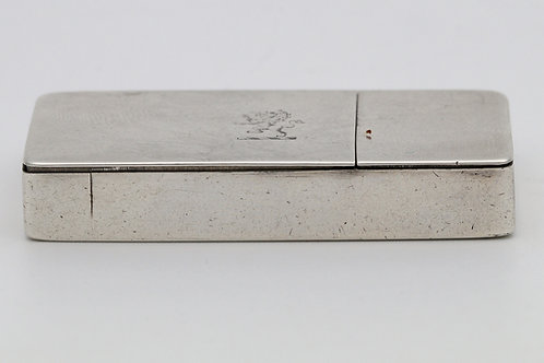 Nathaniel Mills Silver Combination Snuff Box/Vest case