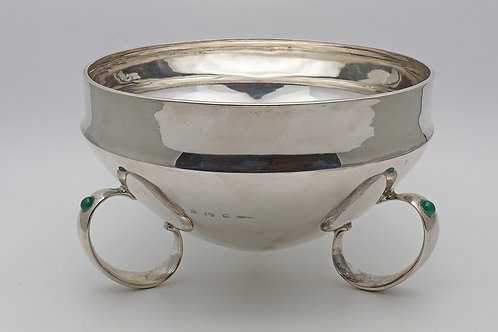 Liberty & Co Archibald Knox silver bowl