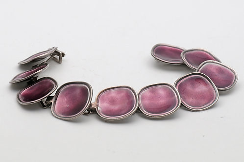Swedish silver bracelet Atelier Borgila