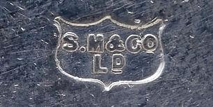 Sampson Mordan Chester silver hallmark introduced 1889