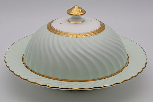 Minton muffin dish made for Tiffany & Co